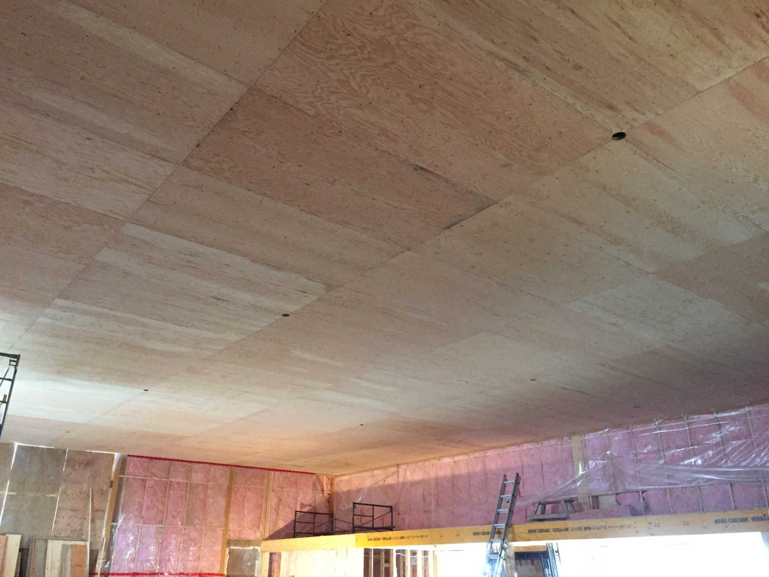 Margaree wooden ceiling